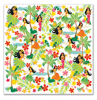 Cocktail Napkins Island Hula Honeys
