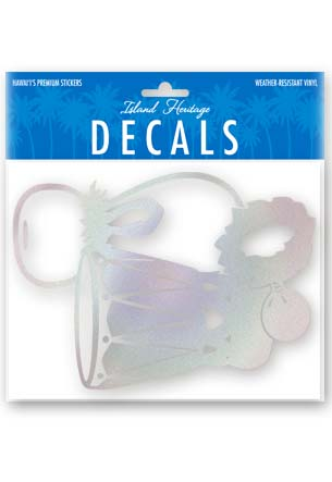 Decal Sticker Hula Instruments