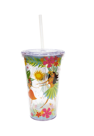 16 oz. Travel Tumbler with Straw, IHH
