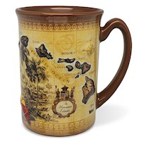 14 oz. Hawaiiana Molded Mug
