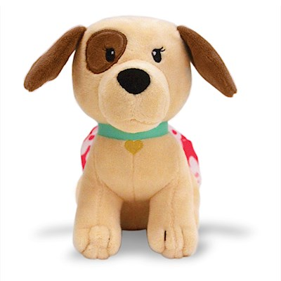 Keiki Kuddles Plush, Peekaboo the Poi Dog