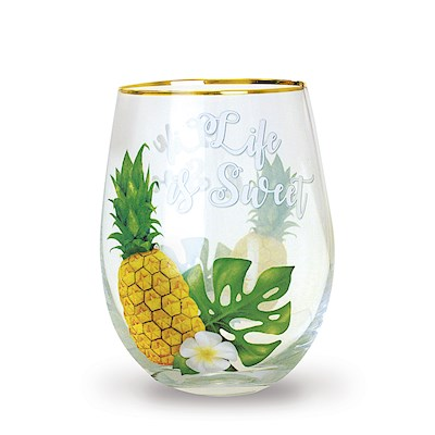 Life is Sweet Coastal Glassware