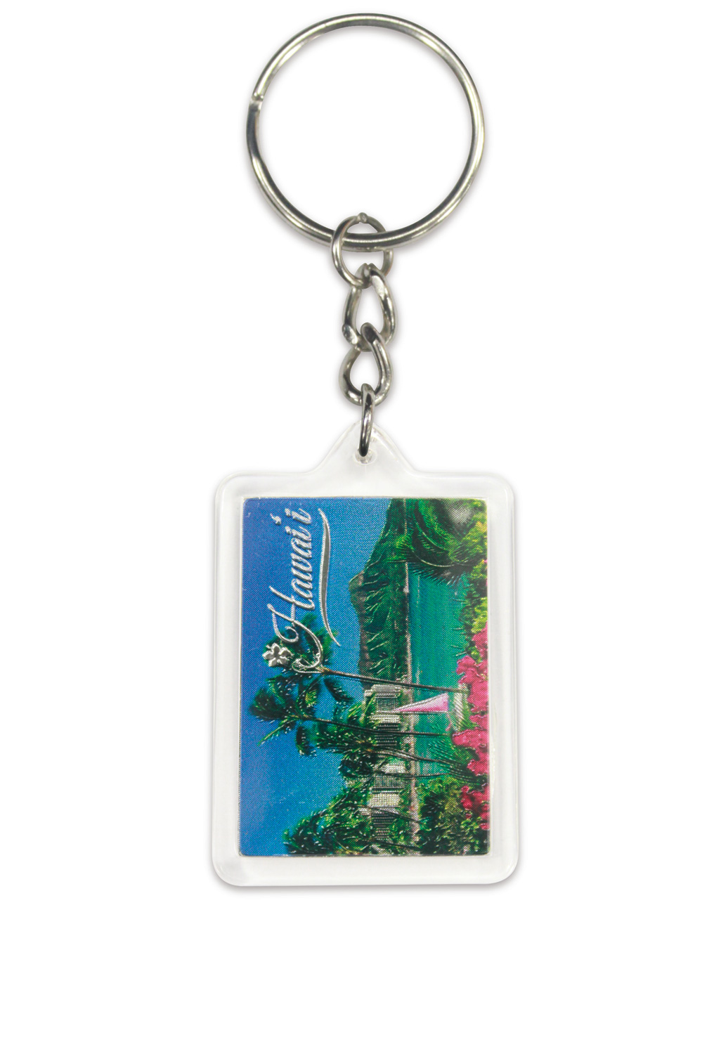 Die Cut Foil Keychain - Diamond Head