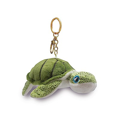 Plush Key Chain, Honu Green