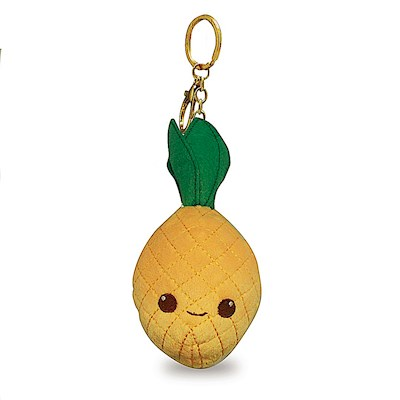 Plush Keychain, Pineapple