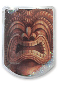 Floater Magnet Clip, Happy Tiki