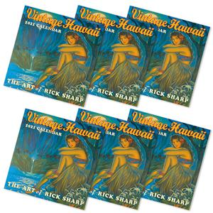 Vintage Hawaii 2021 Deluxe Calendars - Deals by The Case