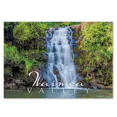 Waimea Valley 4 X 6 O'ahu Postcard