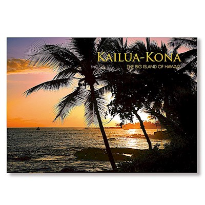 Kailua-Kona Sunset 4 X 6 Big Island Postcards
