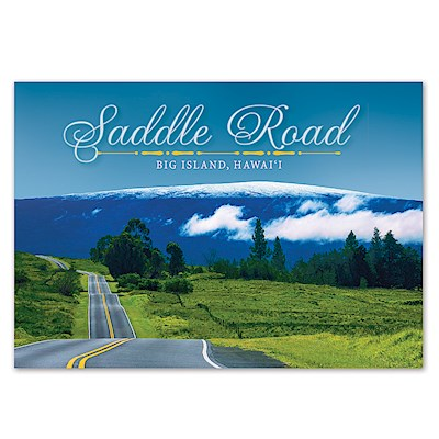 Saddle Road 4 X 6 Big Island Postcards