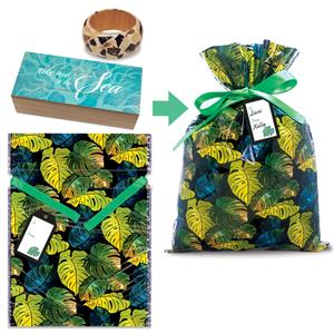 Take Me to The Sea Mosaic Wood Box & Bangle Gift Kit