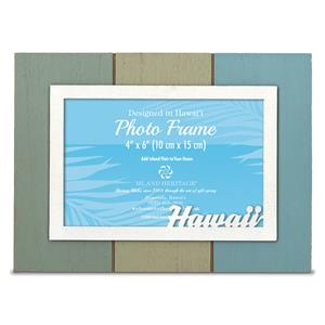 Painted Wood 4x6 Frame, Hawaii (H)