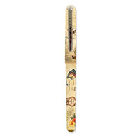 Single Rollerball Pen Islands of Hawaii Tan