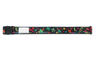 Luggage Strap, Island Hula Honeys Black
