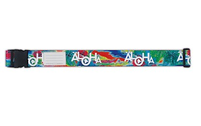 Luggage Strap, Tropical Aloha