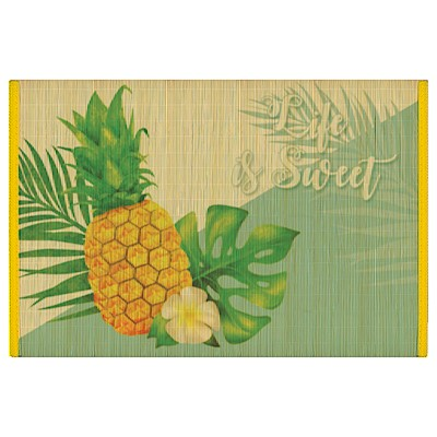 Bamboo Placemat, Life Is Sweet