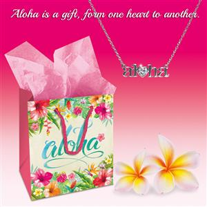 Heart of Hawai'i, Aloha Necklace Gift Set