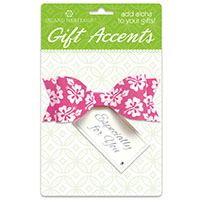 3D Gift Accent, Bow Tie