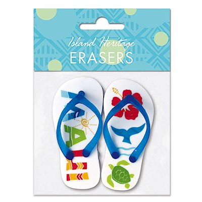 Rubber Slipper Eraser - Maui Fun