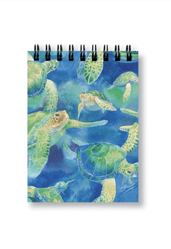 Small Notebook Swimming Honu