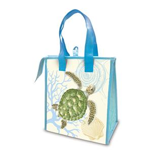 Small Insulated Tote, Honu Voyage
