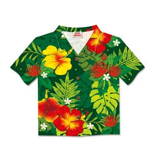 8-ct Box Aloha Shirt, Floral Monstera