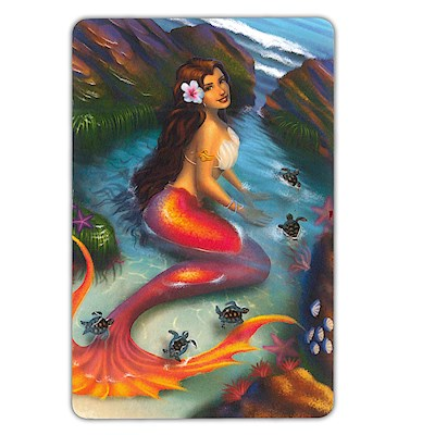 Playing Cards Island Mermaids Coral