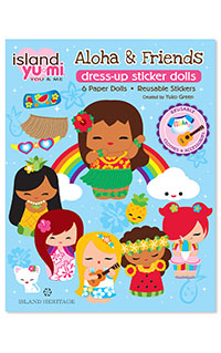 Sticker Dress Up Aloha & Friends Island Yumi