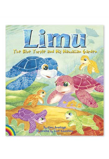 Limu The Blue Turtle and His Hawaiian Garden