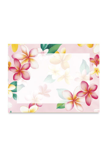 Aloha Stick n Notes Plumeria Pink