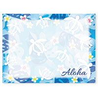 Aloha Stick n Notes Honu Floral