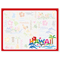 Aloha Stick n Notes Hawaiian Adventures