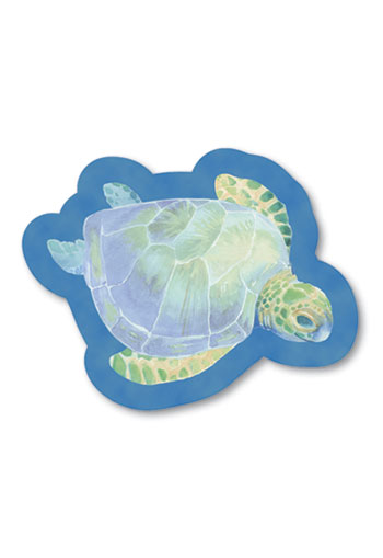 Shaped Aloha Stick n Notes Turtle