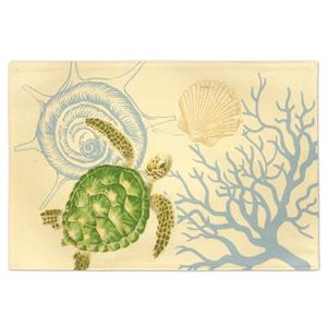 Honu Voyage Reversible Fabric Placemat