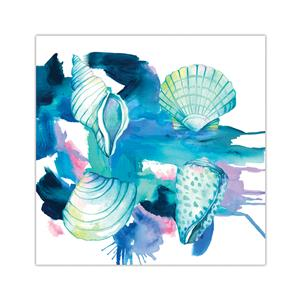 10 X 10 Lauren Roth Wall Art, Shells (Unsigned)