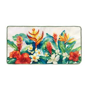 Island Garden Rectangle Pillow 10 X 20 Pillow Cover