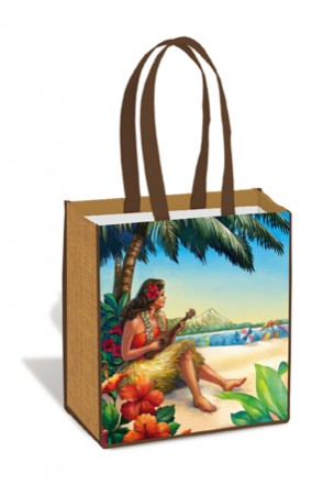 Island Tote Bag - Vintage Hawaii