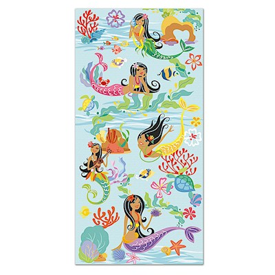 Beach Towel Island Hula Mermaids