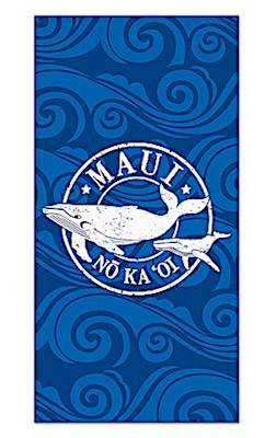 Beach Towel, Maui - No Ka 'Oi