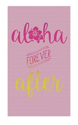 Oversized Beach Towel Aloha Forever After
