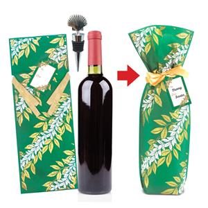 Seashell Bottle of Wine Gift Kits