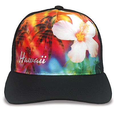 Island Cap Snap Closure, Rainbow Paradise