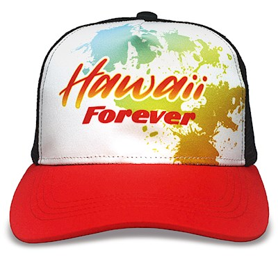 Island Cap Snap Closure, Hawaii Forever