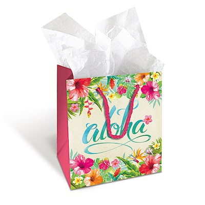Gift Bag - Aloha Floral - Mini