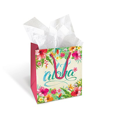 Gift Bag - Aloha Floral - Small