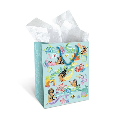 Gift Bag - Island Hula Mermaid - Medium