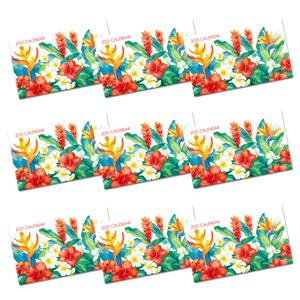 2021 Pocket Calendar, Island Garden (Case of 24)