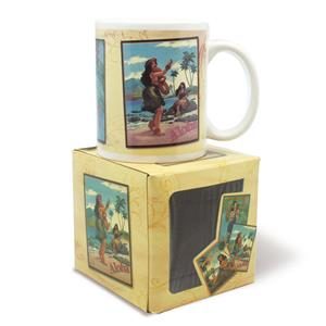 10 oz. Boxed Mug, Hawaiian Vintage Posters