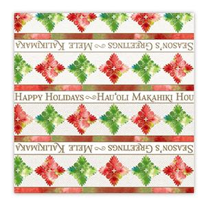 Rolled Gift Wrap, Quilted Holidays