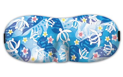 Island Eye Mask, Honu Floral